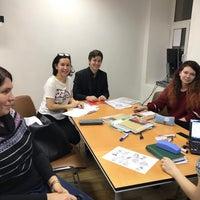 Photo taken at Лаборатория иностранных языков - LABlang by Паата Д. on 12/14/2017
