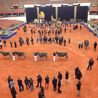 Photo taken at World Dairy Expo by Lindsey on 10/1/2012