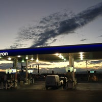 Photo taken at Chevron by Jamez on 8/27/2013