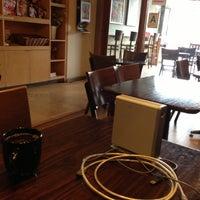 Photo taken at Cafe Americano by Jamez on 10/18/2012