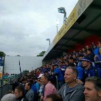 Photo taken at FRIMO Stadion by Torsten G. on 5/25/2016