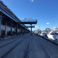 Photo taken at Jones Bay Wharf by Janet W. on 6/15/2018