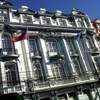 Photo taken at Club Naval Valparaíso by Arturo D. on 8/13/2013