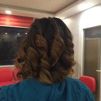Photo taken at zeycem coiffure by Zeynep K. on 12/8/2015