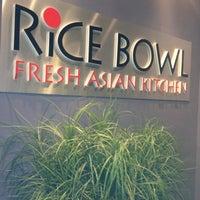 Photo taken at Rice Bowl Asian Kitchen by Vikki W. on 4/30/2013