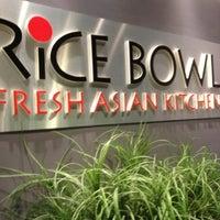 Photo taken at Rice Bowl Asian Kitchen by Vikki W. on 3/27/2013