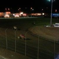 Photo taken at Canyon Speedway by Matt H. on 9/30/2012