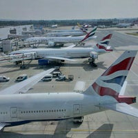 Photo taken at London Gatwick Airport (LGW) by Oleg D. on 7/16/2013
