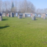 """Photo taken at Paintball park """"PIF PAF"""" by Daina K. on 4/30/2016"""