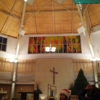 Photo taken at Holy Family Parish by Jellycious M. on 12/19/2012