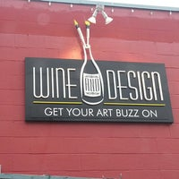 Photo taken at Wine And Design by Jennifer A. on 3/16/2013