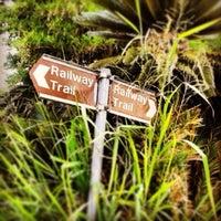 Photo taken at Bermuda Railway Trail by Dawny B. on 3/16/2013