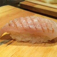 Photo taken at Tanoshi Sushi by Kasey T. on 5/2/2015