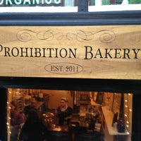 Photo taken at Prohibition Bakery by Alessandra B. on 1/8/2013