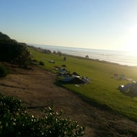 Photo taken at Del Mar Bluffs by Sally P. on 11/6/2012