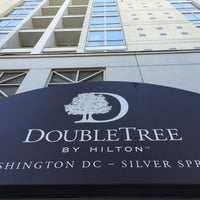 Photo taken at DoubleTree by Hilton Hotel Washington DC - Silver Spring by Ivan Z. on 9/5/2016