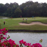 Photo taken at Cengkareng Golf Club by Ferdaus M. on 9/22/2012