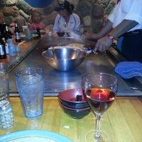Photo taken at Kobe Japanese Steakhouse and Sushi Bar by Angela S. on 10/20/2012
