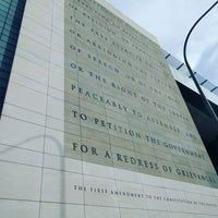 Photo taken at Newseum - Knight Conference Center by Bryan H. on 2/6/2016