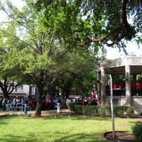 Photo taken at San Augustin Plaza by Marni O. on 3/29/2014