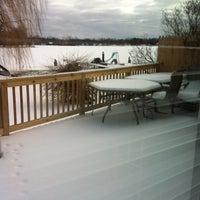 Photo taken at Kim's Lakehouse by Sara W. on 12/25/2012