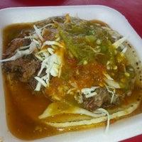 Photo taken at Tacos de Cabeza Chino Mario by Pedro B. on 10/30/2014