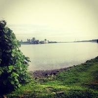 Photo taken at Kranji Beach Battle Site by Wolfgang J. Pereira on 12/4/2012