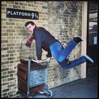 Photo taken at Platform 9¾ by Josh W. on 5/7/2013