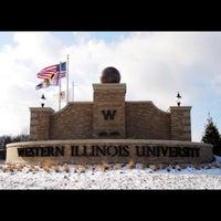 Photo taken at Western Illinois University by Kelly S. on 1/13/2016