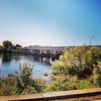 Photo taken at Rourke Bridge by Jen G. on 9/28/2013