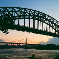 Photo taken at Astoria Park by Shaelyn A. on 8/4/2013