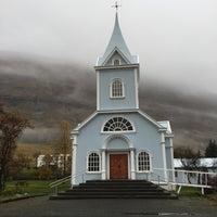 Photo taken at Seyðisfjörður by Shannon C. on 10/22/2017