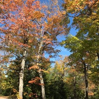 Photo taken at Algonquin Provincial Park - West Gate by Cathy Q. on 10/3/2017