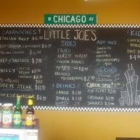 Photo taken at Little Joe's Italian Beef by Jer O. on 12/2/2012