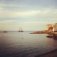 Photo taken at Scogliera di Marciana Marina by Gabriele R. on 9/17/2012