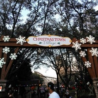Photo taken at busch gardens christmas town by Michele B. on 12/27/2015