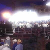 Photo taken at Jaripeo Tamazola, Oax. by Miguel B. on 7/24/2013