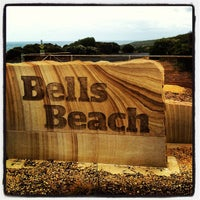 Photo taken at Bells Beach by Rodney O. on 2/9/2013