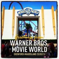 Photo taken at Warner Bros. Movie World by Rodney O. on 3/24/2013