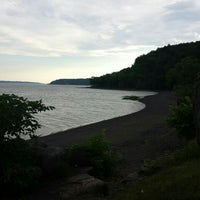 Photo taken at Plage Jacques Cartier by Clayton C. on 7/5/2016