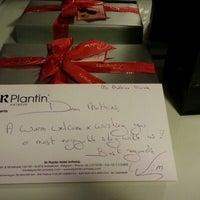 Photo taken at Sir Plantin Hotel Antwerp by Mathias TC K. on 1/11/2013