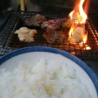 Photo taken at 焼肉かどや by pi_z on 2/28/2014