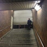 Photo taken at Shinjuku Line Shinjuku Station (S01) by aniki02 on 1/21/2013