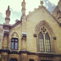 Photo taken at Basilique Sainte-Clotilde by Jason B. on 11/25/2012