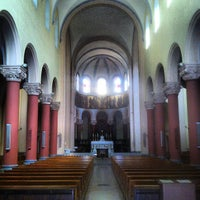 Photo taken at Eglise Saint Pierre by Jason B. on 9/22/2013