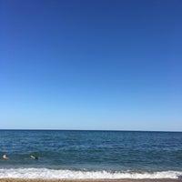 Photo taken at Пляж 15-16 Черноморки by Николай Г. on 7/5/2016