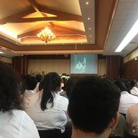 Photo taken at หอประชุมองค์การบริหารส่วนจังหวัดขอนแก่น by Nnae S. on 8/5/2017
