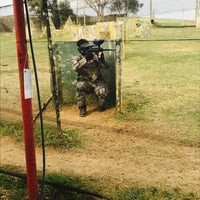 Photo taken at Adana Paintball by Semih S. on 3/20/2017