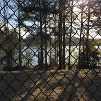 Photo taken at Longlake Tennis Courts by Jude A. on 4/4/2015