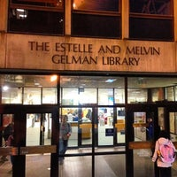 Photo taken at Estelle and Melvin Gelman Library by conans h. on 1/14/2013